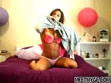 Teen Girl Hot Webcam Strip